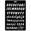 sablona abeceda