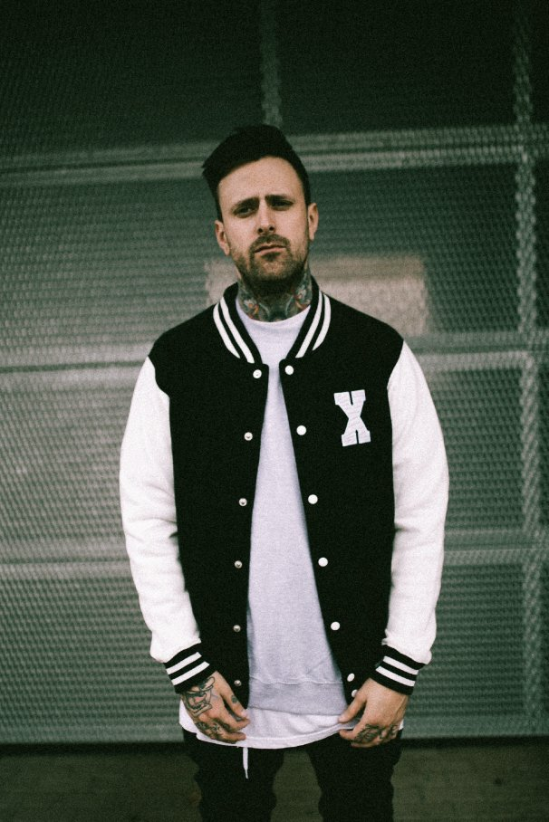 "YOUTH: baseball ""STRAIGHT EDGE"" jacket"