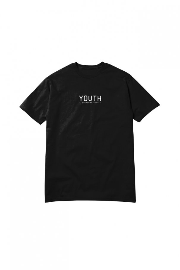 youth tee black