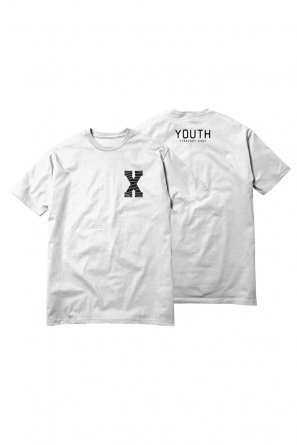 youth tee white