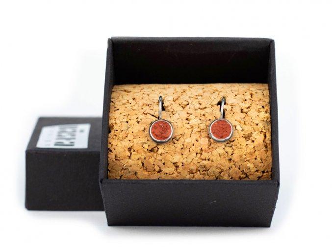 nausnice simple hang red box