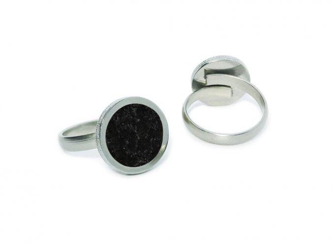 prstynek round ring cerna