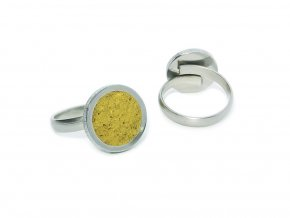 prstynek round ring yellow