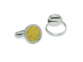 prstynek round ring yellow