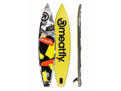 """Paddleboard MEATFLY Zoom 12,6"""" A lime black"""