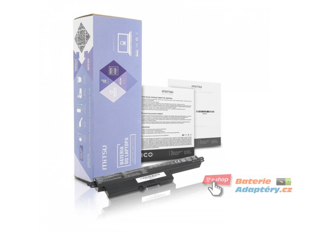 Baterie mitsu Asus Vivobook S200, X200