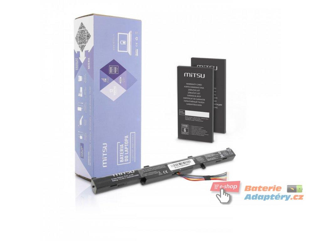 Baterie mitsu Asus GL752VL, N552VX