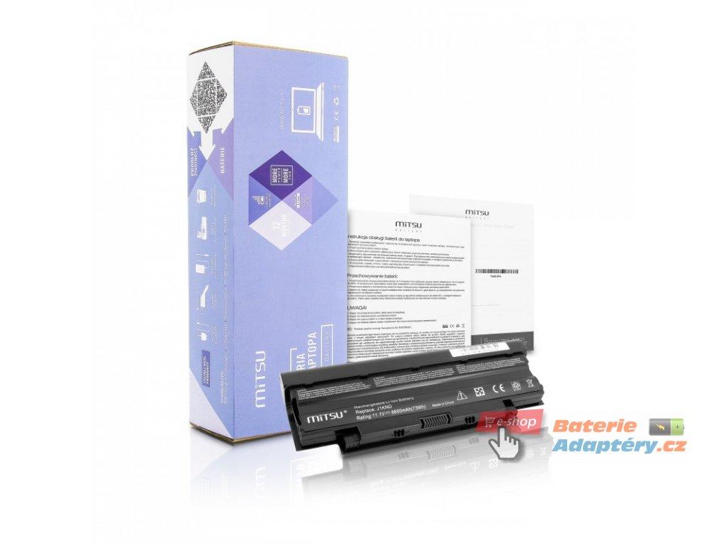 Baterie mitsu Dell 13R, 14R, 15R (6600mAh)