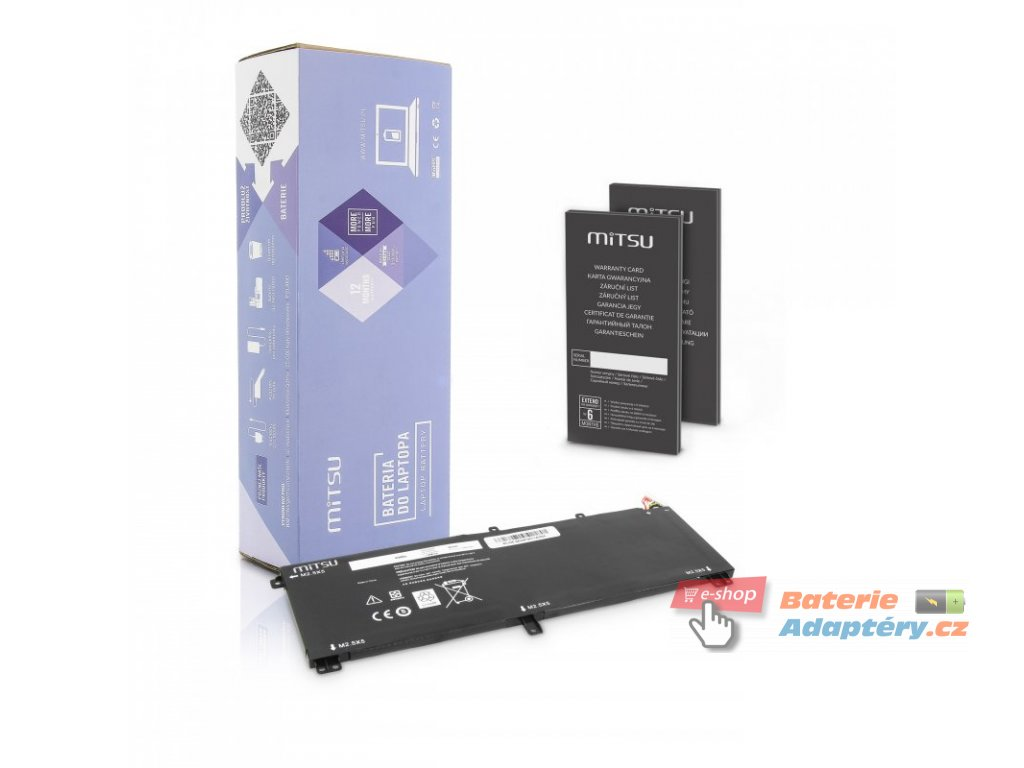 Baterie mitsu Dell XPS 15 9530, M3800