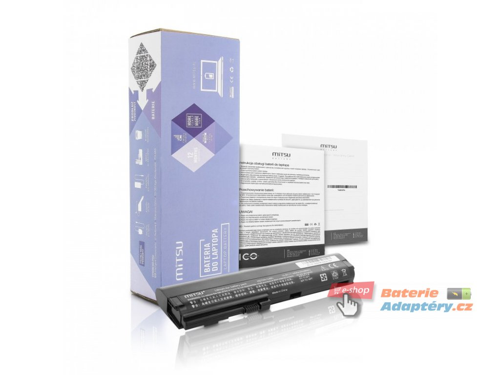 Baterie mitsu HP 2560p, 2570p