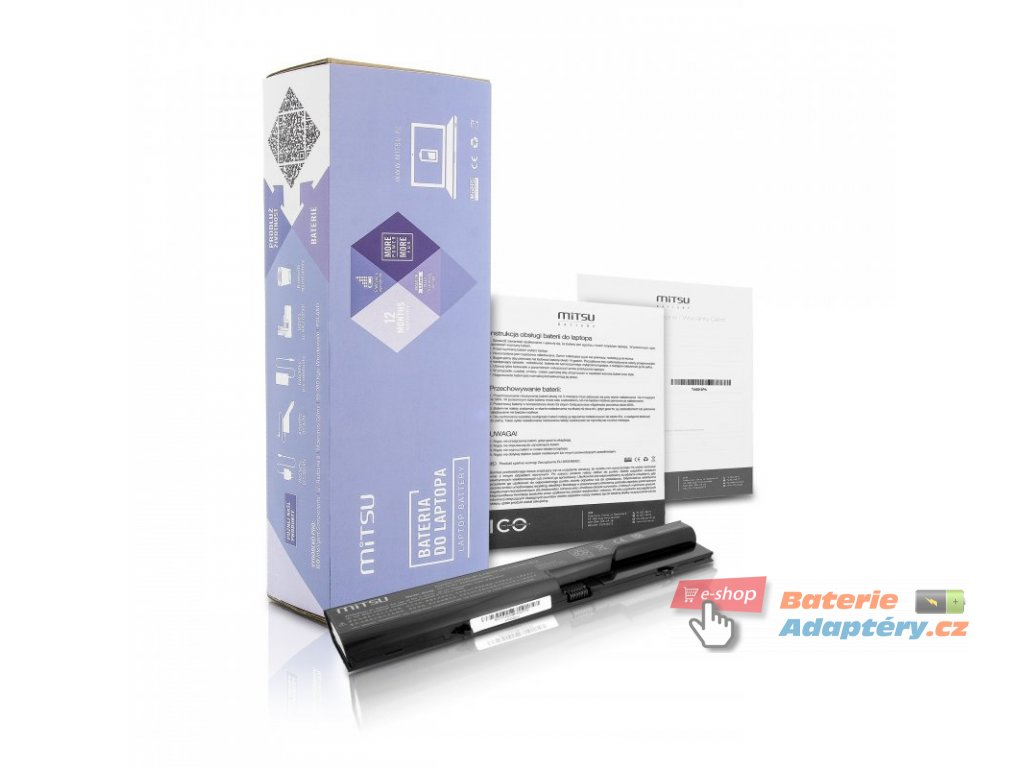 Baterie mitsu HP ProBook 4320s, 4520s (4400mAh)