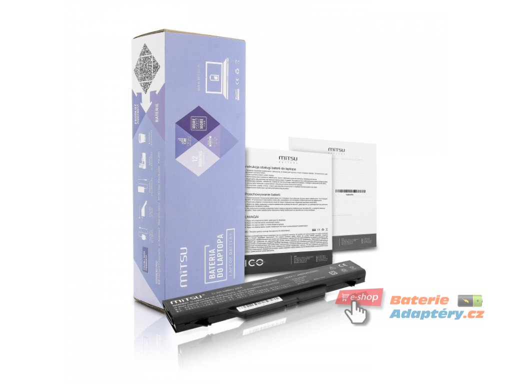 Baterie mitsu HP ProBook 4510s, 4710s - 14.4v