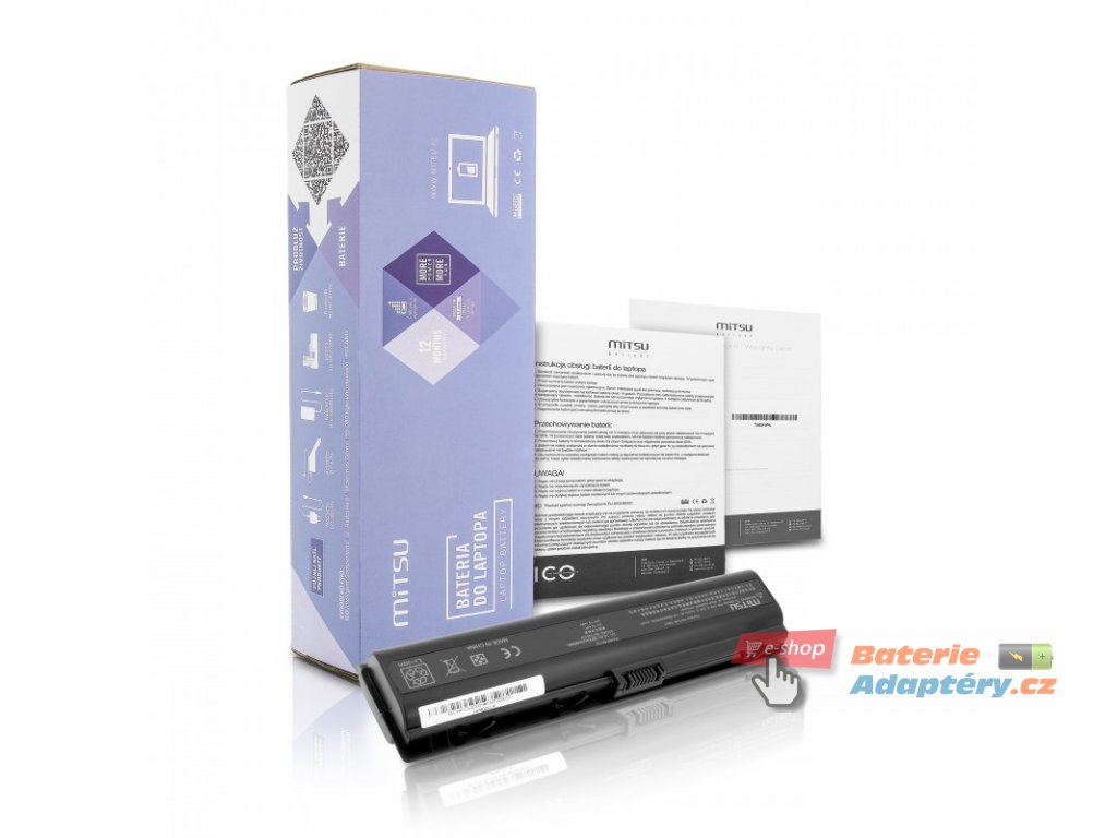 Baterie mitsu HP dv2000, dv6000 (8800mAh)