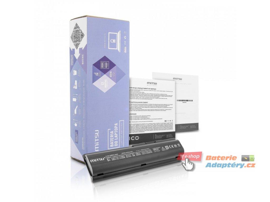 Baterie mitsu HP dv4, dv5, dv6 (6600mAh)