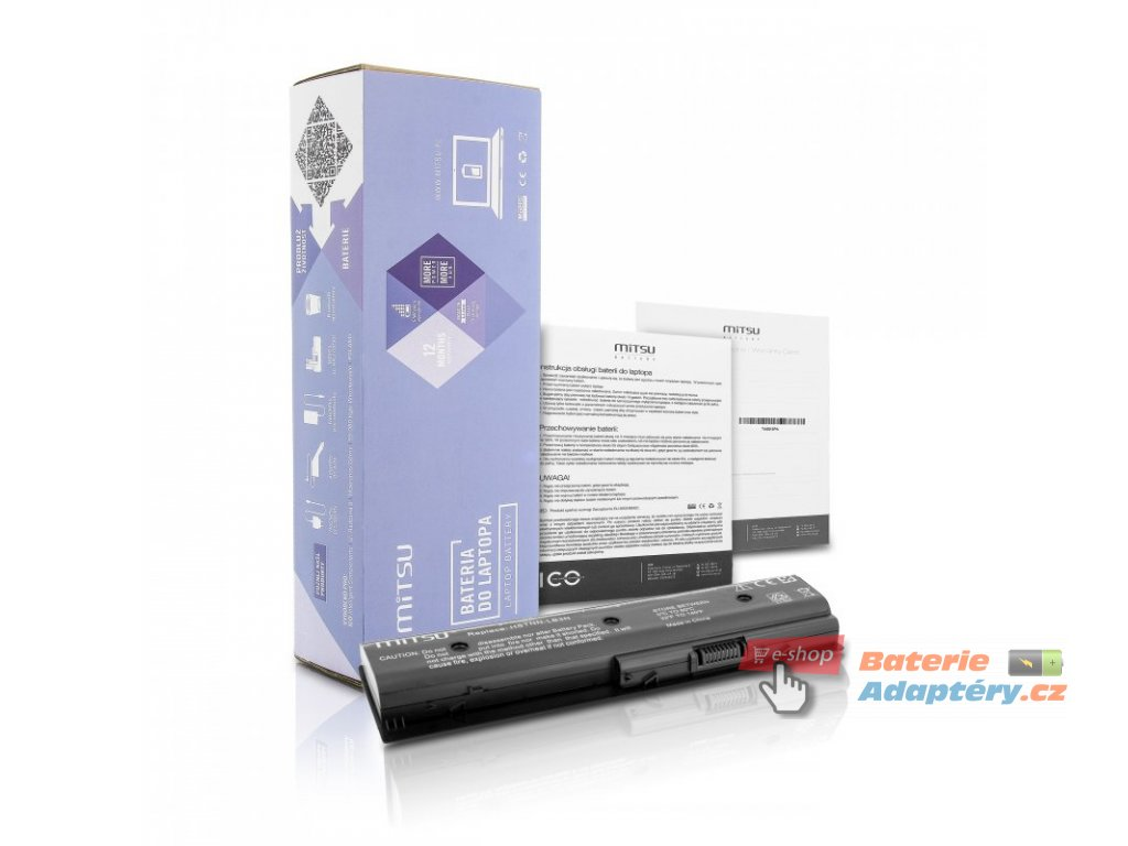Baterie mitsu HP dv4-5000, dv6-7000