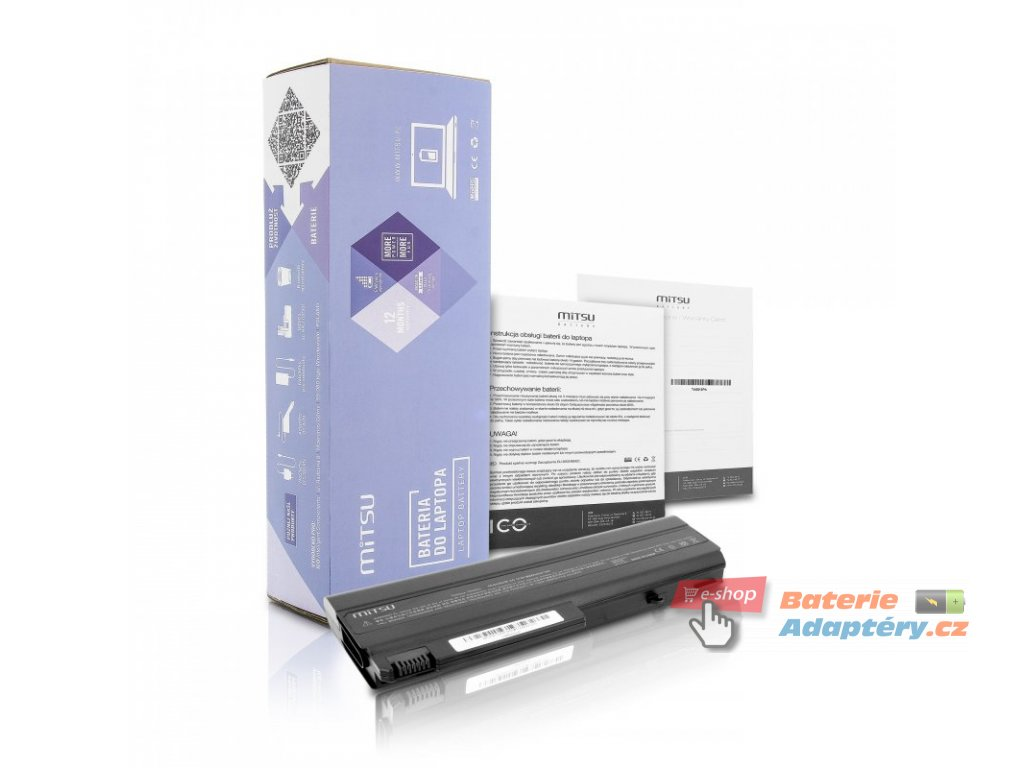 Baterie mitsu HP nc6100, nx6120 (6600mAh)