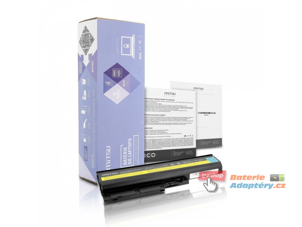 Baterie mitsu IBM R60, T60, T61 (4400mAh)