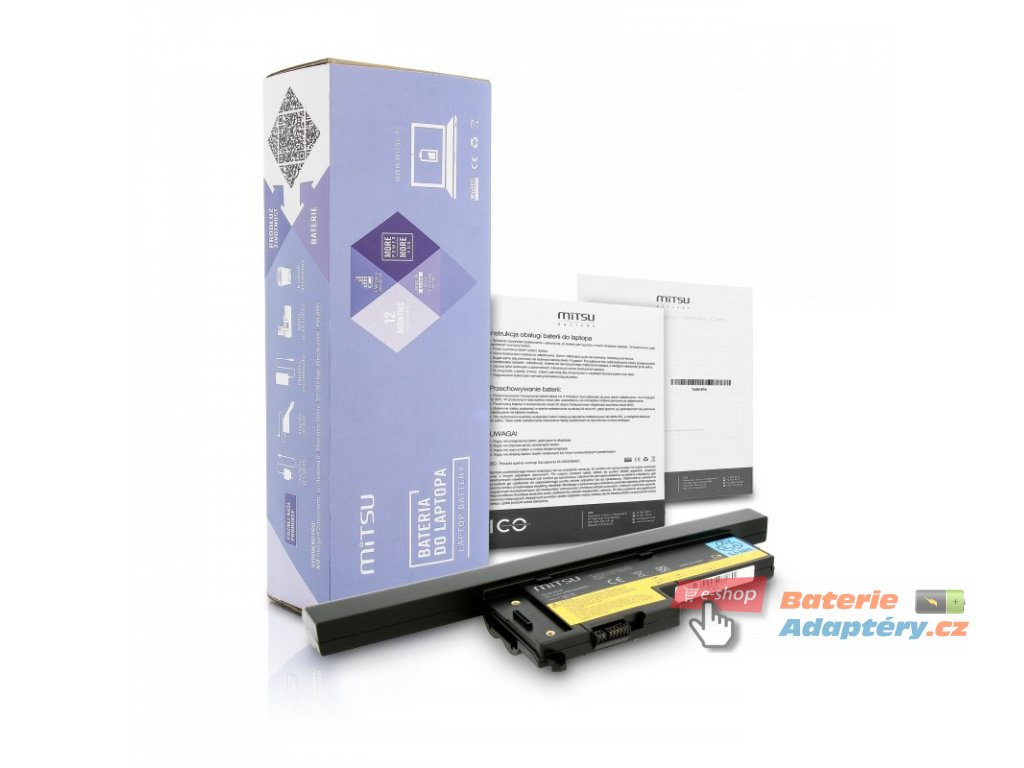 Baterie mitsu IBM X60, X60s (4400mAh)