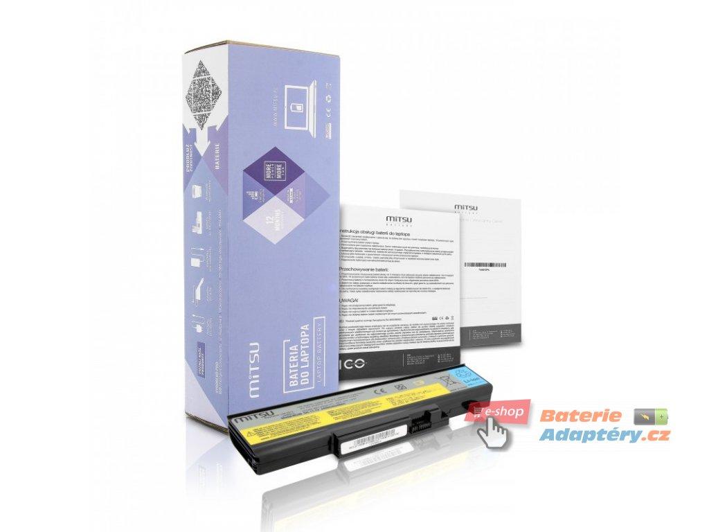 Baterie mitsu Lenovo IdeaPad Y450, Y550