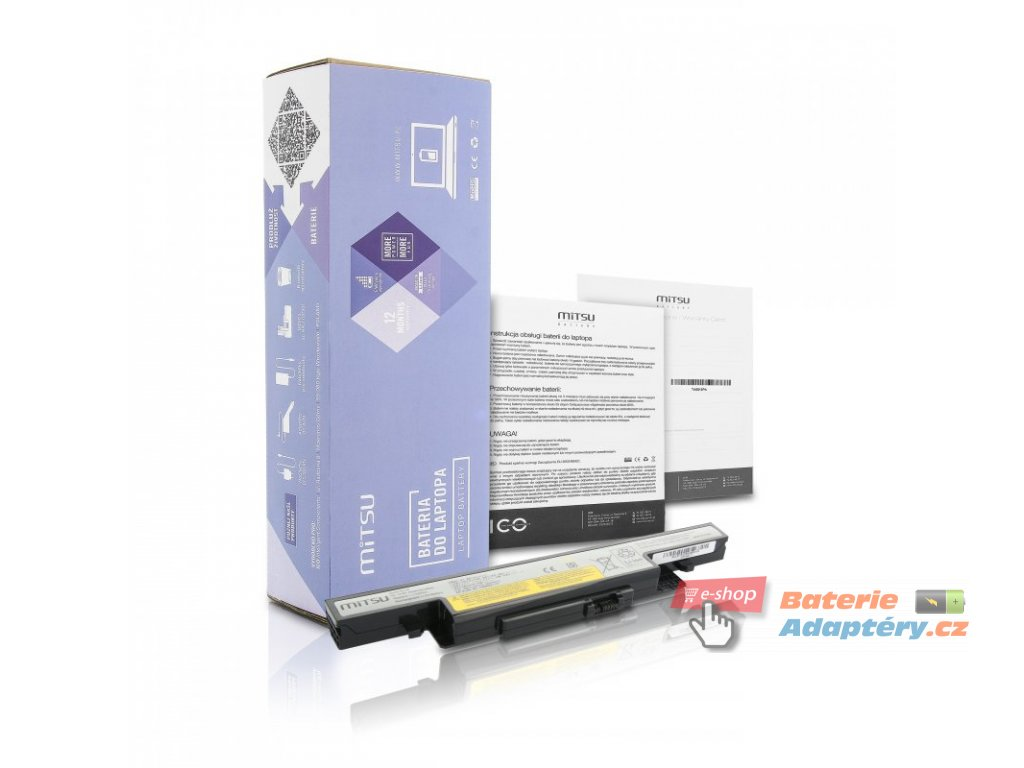 Baterie mitsu Lenovo IdeaPad Y510p