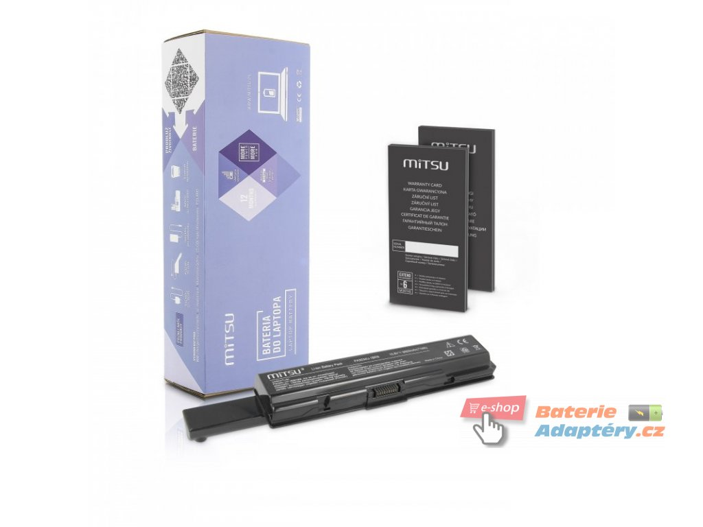 Baterie mitsu Toshiba A200, A300 (6600mAh)