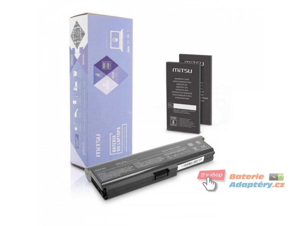 Baterie mitsu Toshiba L700, L730, L750 (6600mAh)