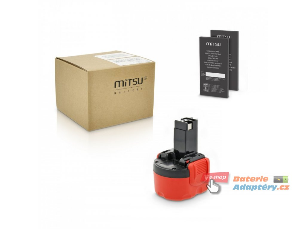 Baterie mitsu Bosch 23609, 32609