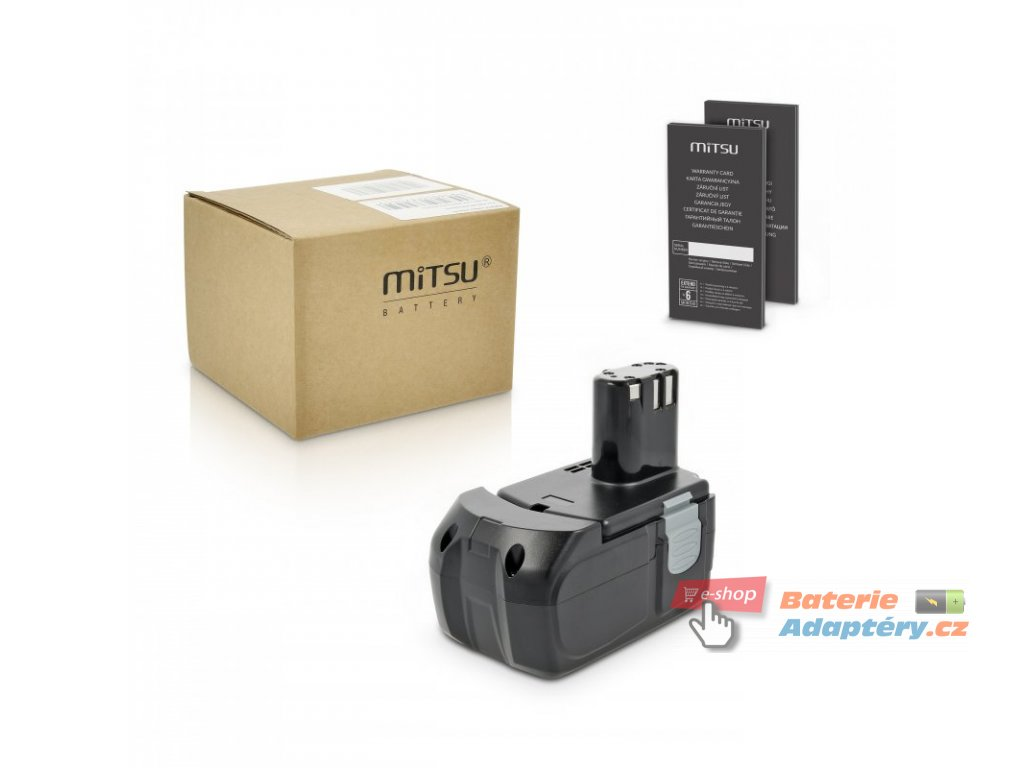 Baterie mitsu Hitachi EB1424 (3000mAh)