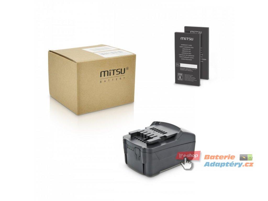 Baterie mitsu Metabo ASE 18 LTX BF (4000mAh)