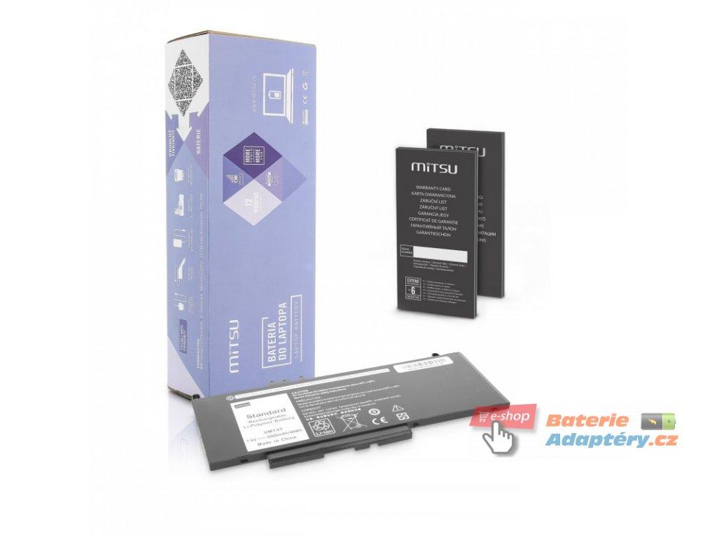 Baterie mitsu Dell Latitude E5470, E5570 - 7.6v