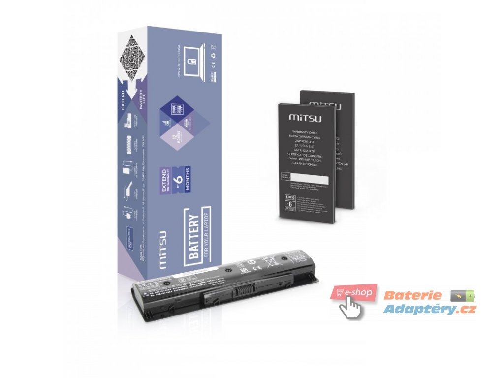 Baterie mitsu HP Pavilion 14, 15, 17