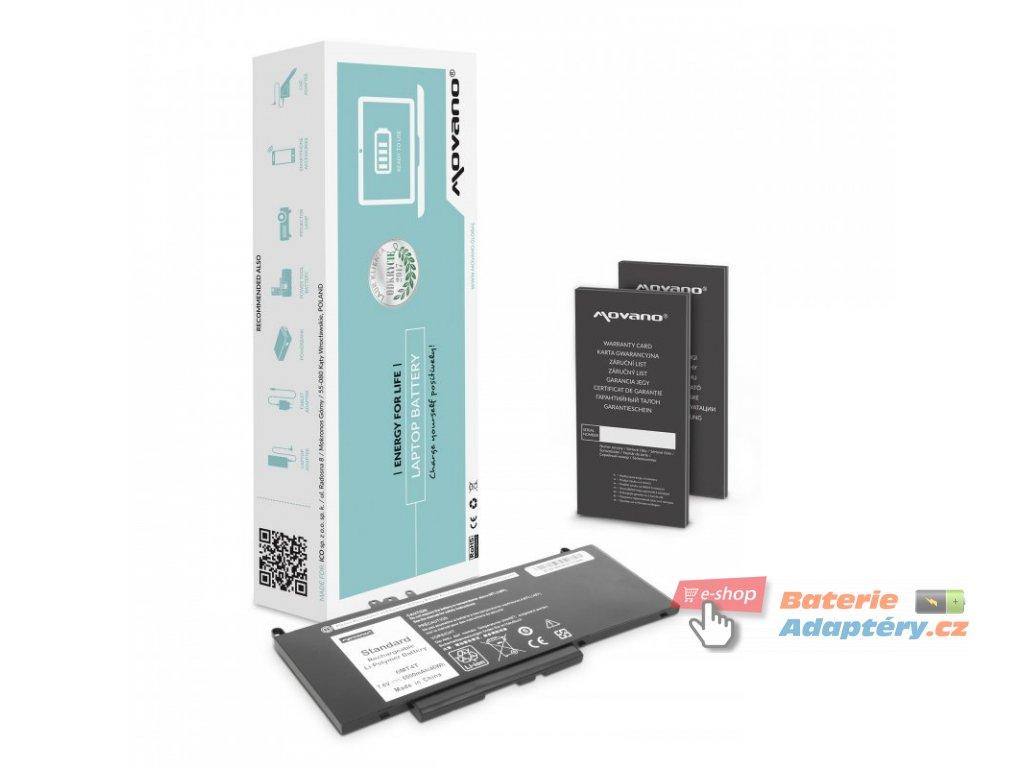 Baterie movano Dell Latitude E5470, E5570 - 7.6v