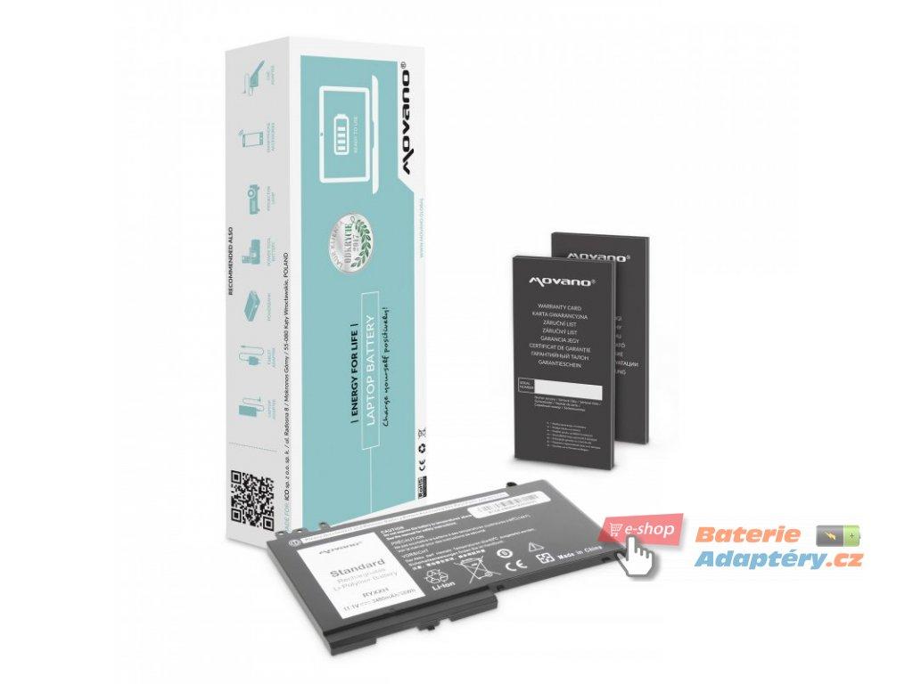 Baterie movano Dell Latitude E5450, E5550 – 11.1v