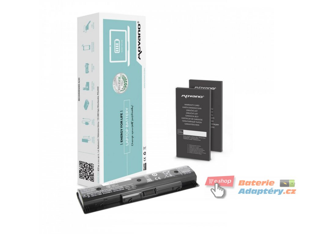 Baterie movano HP Pavilion 14, 15, 17