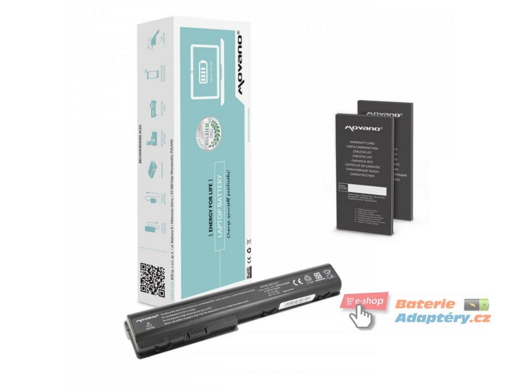 Baterie movano HP dv7, hdx18 (6600mAh)