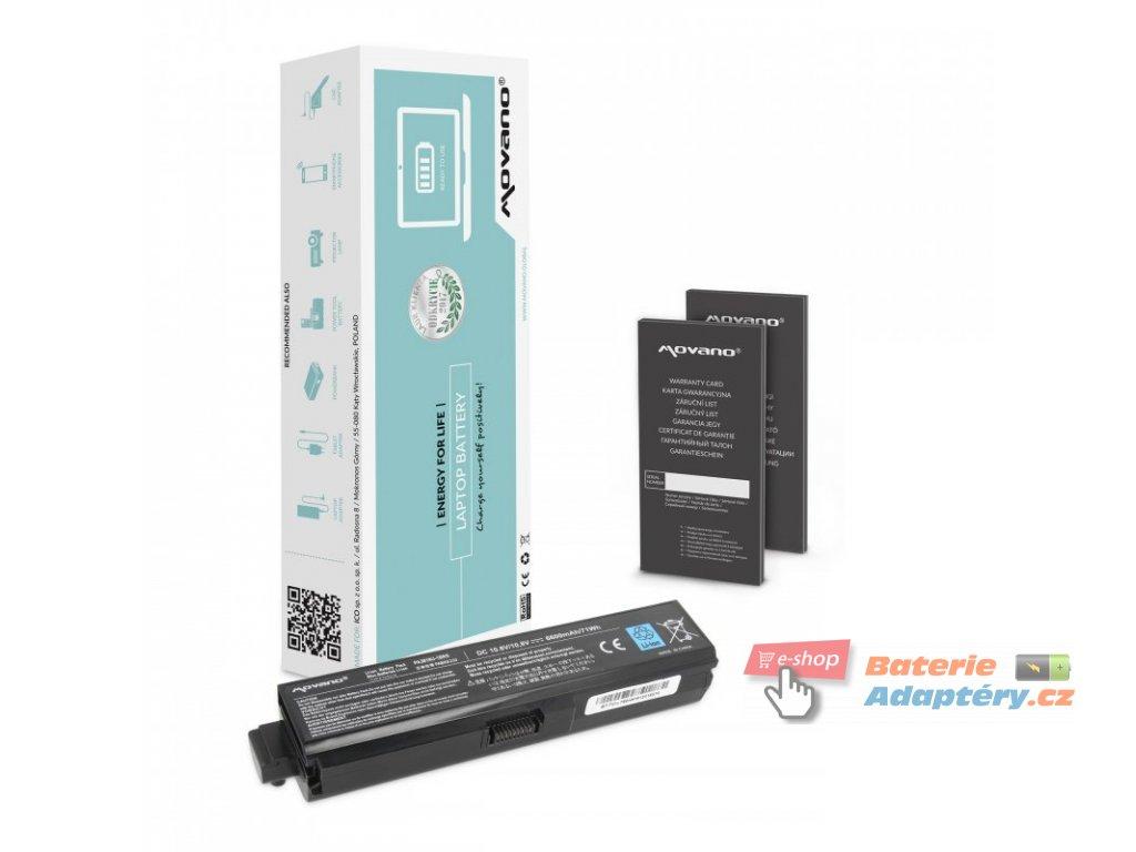 Baterie movano Toshiba L700, L730, L750 (6600mAh)