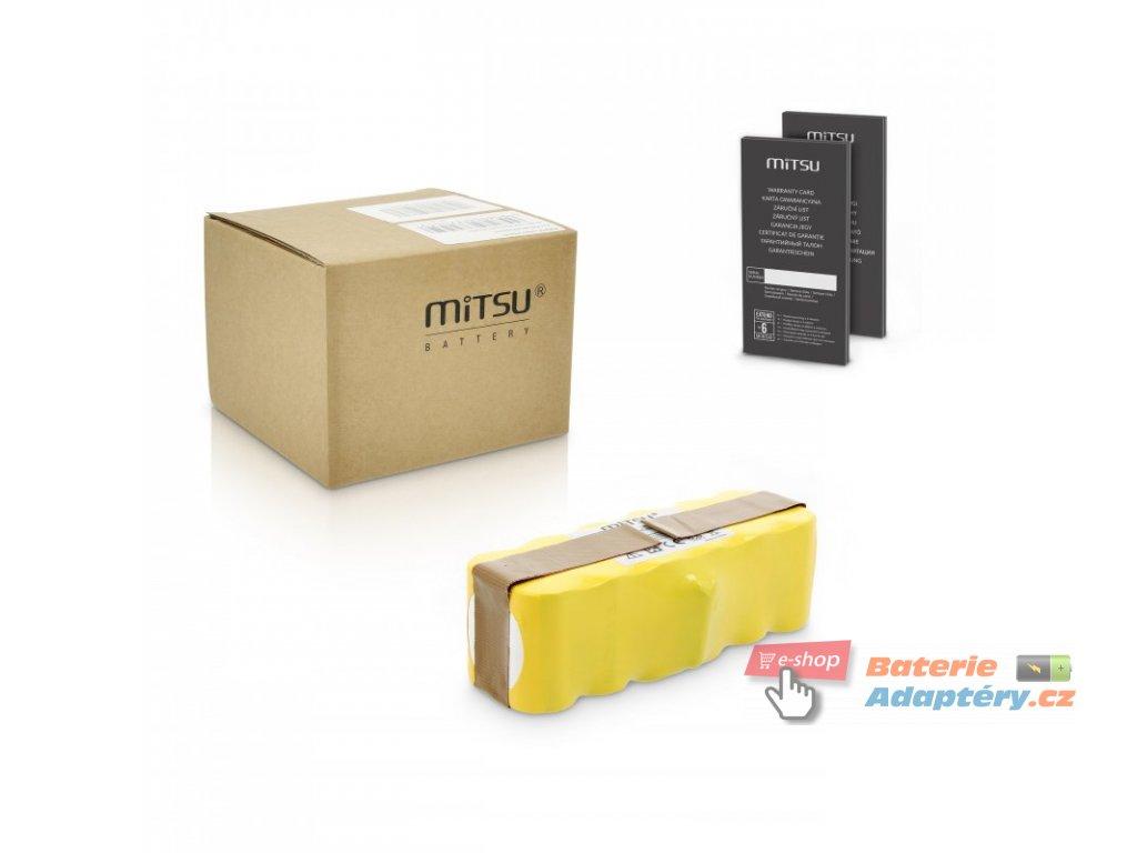 Baterie mitsu Irobot Roomba 510, 530, 532, 535