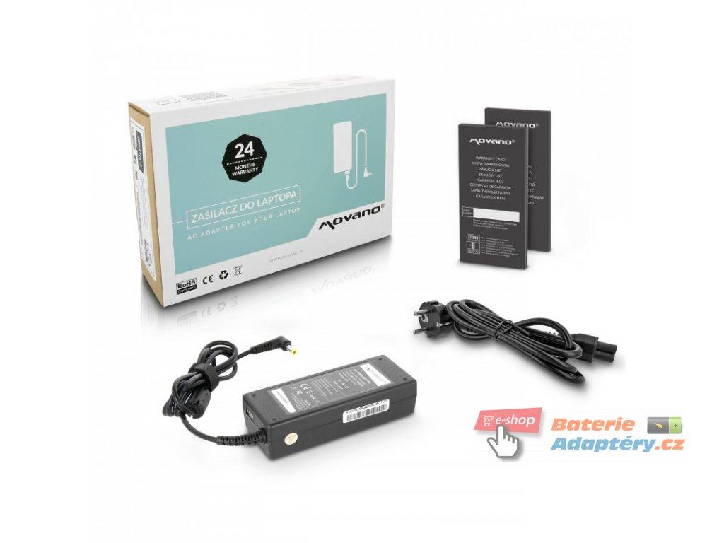 Nabíječka movano 19v 4.74a (5.5x2.5), z wyjsciem USB - asus, toshiba, msi, itp