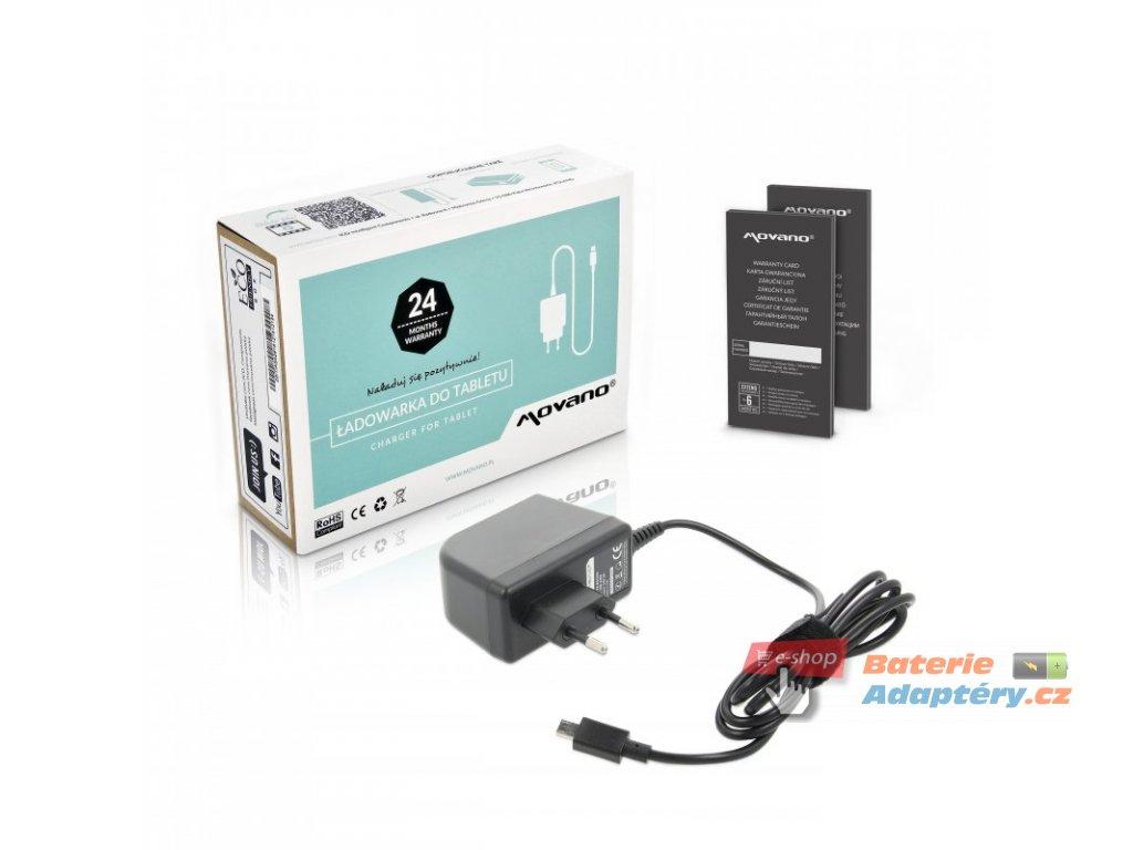 Nabíječka movano tablet asus chromebook flip C100 - 12v 2a