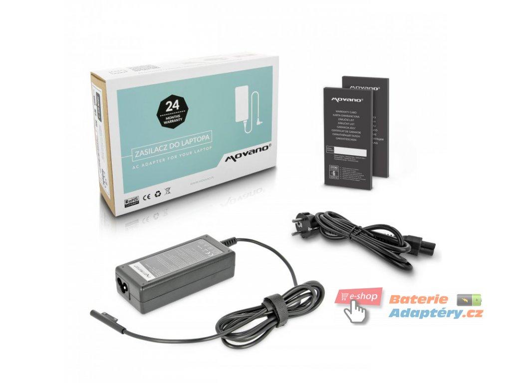 Nabíječka movano tablet microsoft - 15v 4a
