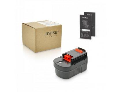 Baterie mitsu Black&Decker CP14K, CP14KB