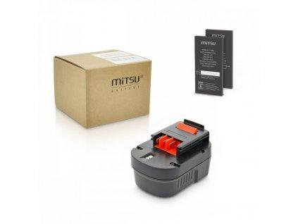 Baterie mitsu Black&Decker BDG1200K (3000 mAh)