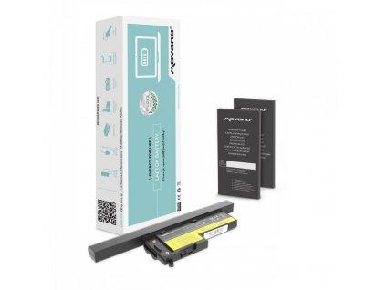 Baterie movano IBM X60, X60s (4400mAh)