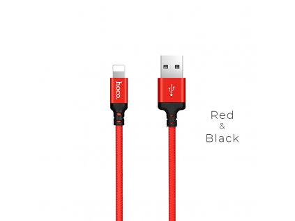x14 times speed lightning charging cable red black