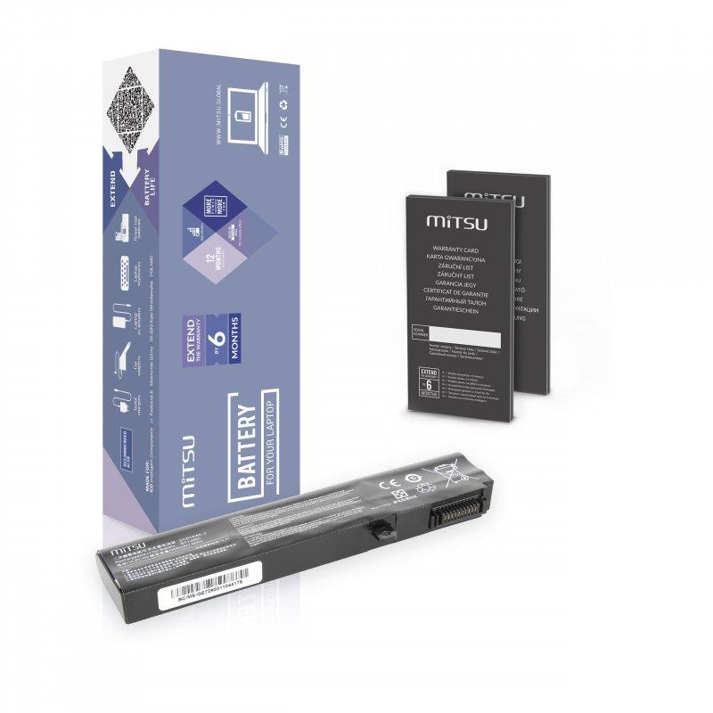 Baterie mitsu MSI GE72, GL72