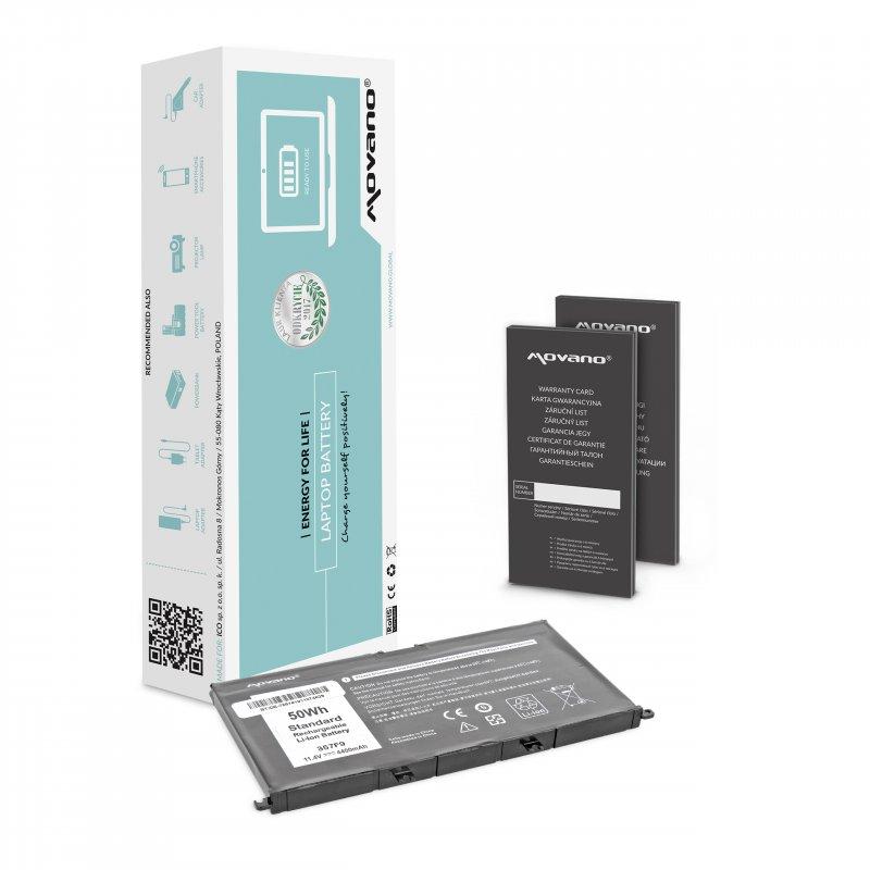 Baterie movano Dell Inspiron 15 (7557), 15 (7559) - 4400mAh