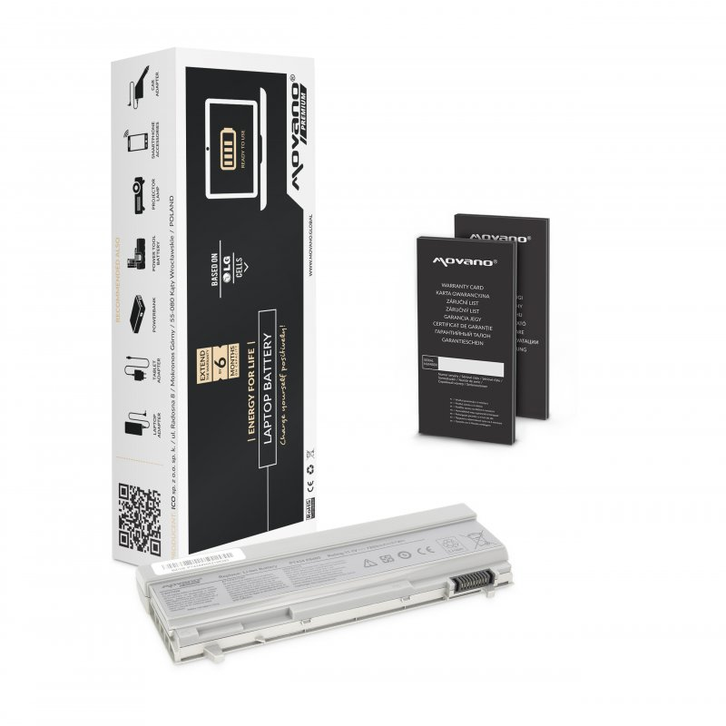 Baterie movano premium Dell Latitude E6400 (7800mAh)