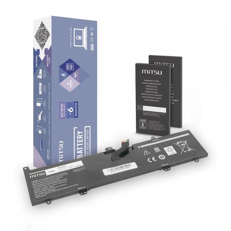 Baterie mitsu Dell Inspiron 11 3162, 3168, 3180