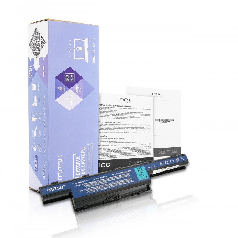 Baterie mitsu Acer Aspire 4551, 4741, 5741 (6600mAh)