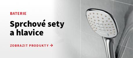 Sprchové sety a hlavice